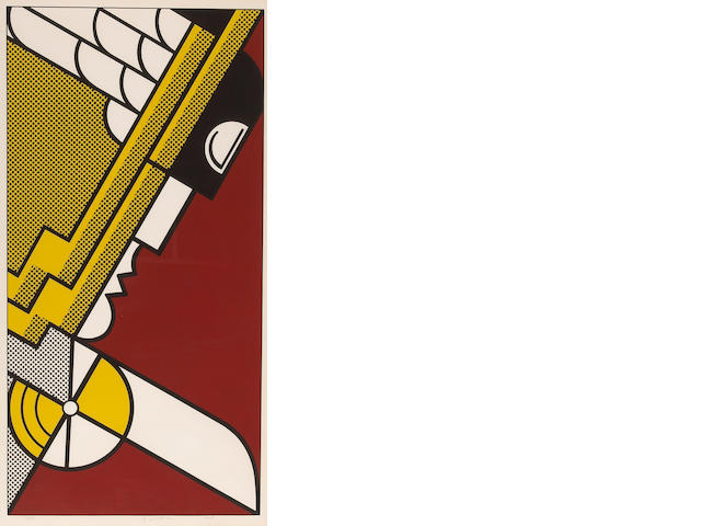 Roy Lichtenstein (American, 1923-1997); Salute to Aviation;