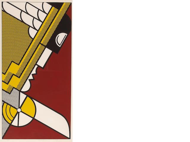 Roy Lichtenstein (American, 1923-1997); Salute to Aviation;