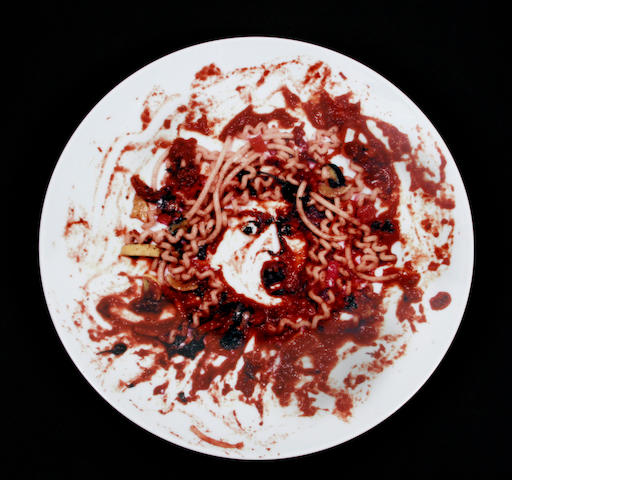 Vik Muniz, Medusa, 1999, Peter Norton Family X-mas project
