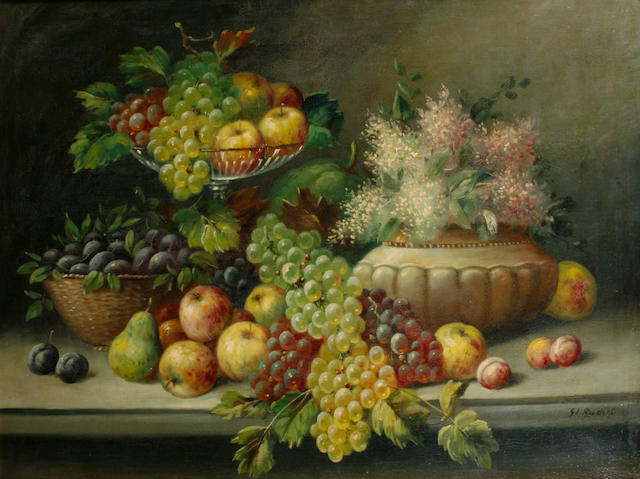 Rudolf Still life with fruit Still life with fruit