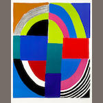 Sonia Delaunay (French, 1885-1979); Untitled;