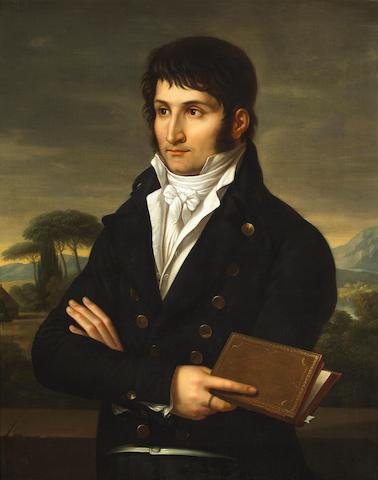 Studio of Francois-Xavier Fabre (French, 1766-1837) A portrait of Lucien Bonaparte 33 3/4 x 27in (85.7 x 68.6cm)
