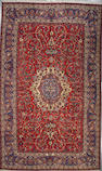 An Isphahan carpet size approximately 10ft. 4in. x 17ft.