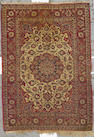 An Isphahan rug South Central Persia, size approximately 4ft. 10in. x 6ft. 10in.
