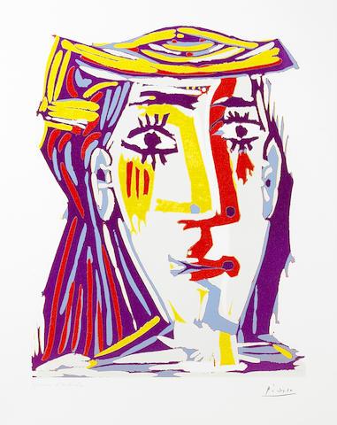 Pablo Picasso (Spanish, 1881-1973); Femme au Chapeau;