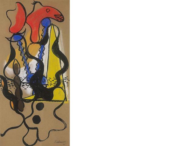 Charles Joseph Biederman (American, 1906-2004) Untitled (New York), 1935 17 1/2 x 8 1/2in (44.5 x 21.6cm)