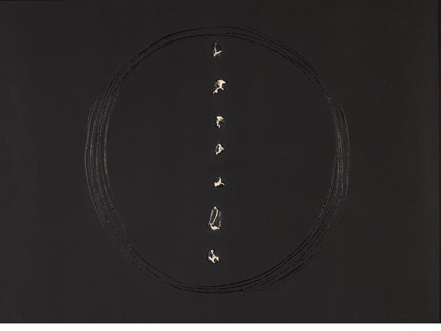 Lucio Fontana (Italian, 1899-1968); Concetto Spaziale (Spatial Concept);
