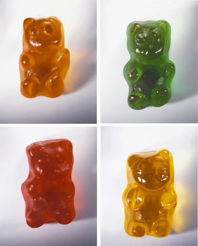 Vik Muniz (Brazilian, born 1961); Gummy Bears; (4)