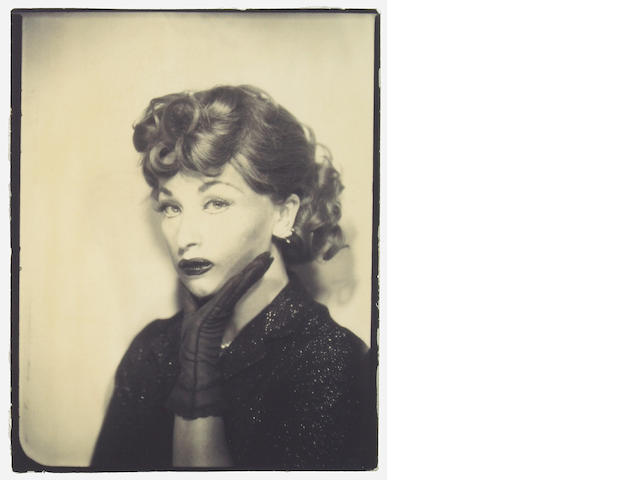 Cindy Sherman (American, born 1954); Self-Portrait as Lucille Ball;