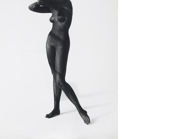 Herb Ritts (American, 1952-2002); Black Female Figure, Los Angeles;