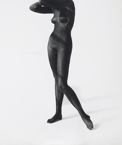 Herb Ritts (American, 1952-2002); Black Female Figure, Los Angeles;
