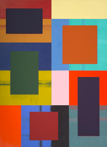 Charles A. Arnoldi (American, born 1946) Tub, 2008 102 x 75in