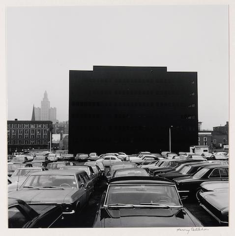 Harry Callahan (American, 1912-1999); Detroit;