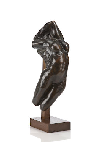 Auguste Rodin (French, 1840-1917) Torse d'Adele 19 x 8 1/4 x 7in