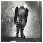 Joel-Peter Witkin (American, born 1939); Man with Wings and Wheels;