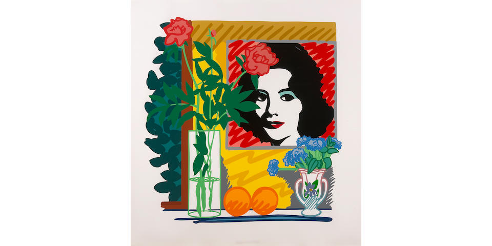 Tom Wesselmann (American, 1931-2004); Still Life with Liz, from Portfolio 90;