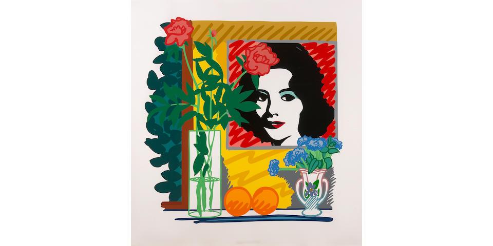 Tom Wesselmann (American, 1931-2004); Still Life with Liz, from Portfolio 90;