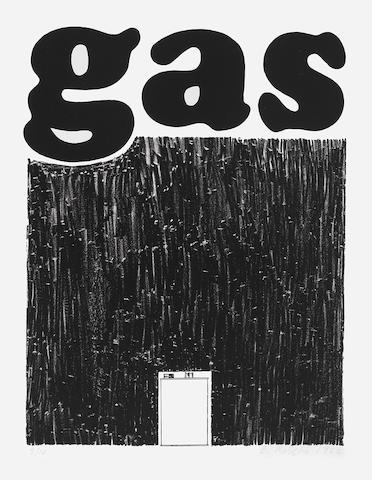 Edward Ruscha (American, born 1937); Gas;
