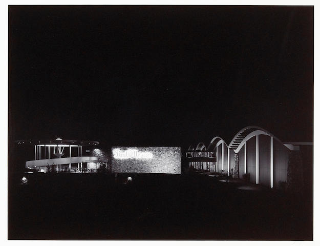 Ansel Adams (American, 1902-1984); New Cellars, Night, Paul Masson Vineyard, Saratoga, California;