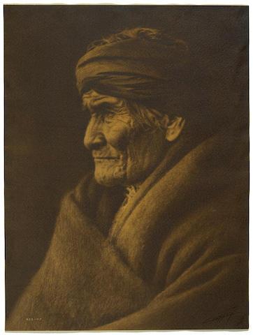 Edward S. Curtis (American, 1868-1952); Geronimo, Apache;