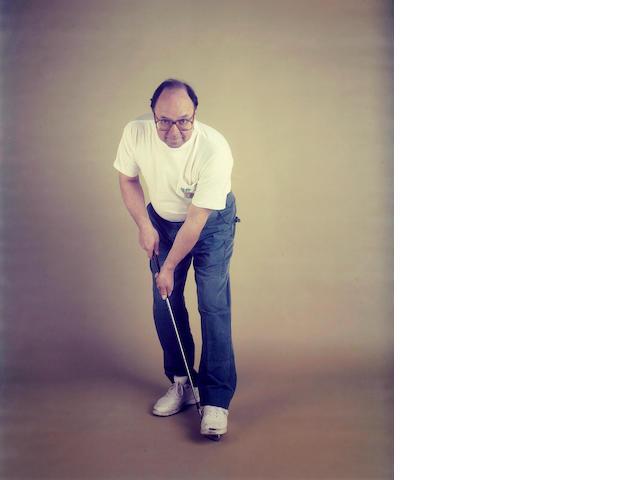 William Wegman (American, born 1943); Andy the Golfer;