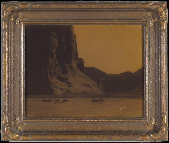 Edward S. Curtis (American, 1868-1952); Cañon de Chelly, Arizona, Navaho;