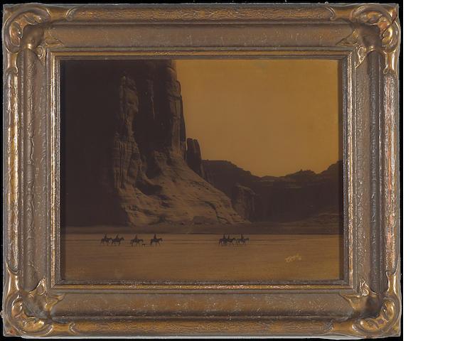 Edward S. Curtis (American, 1868-1952); Cañon de Chelly, Arizona, Navaho;