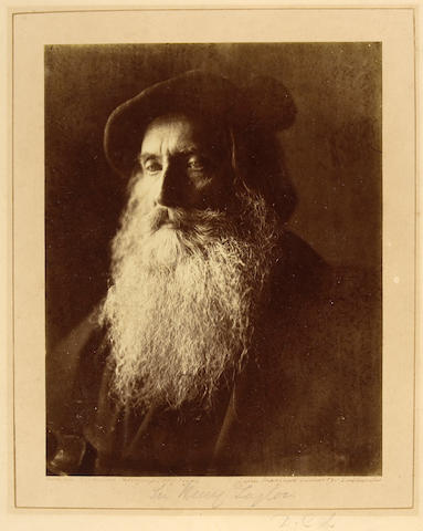 Julia Margaret Cameron (British, 1815-1879); Sir Henry Taylor, A Study in the manner of Rembrandt;
