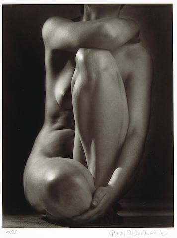 Ruth Bernhard (American, 1905-2006); Classic Torso;