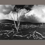 Brett Weston (American, 1911-1993); Volcanic Devastation, Hawaii; Landscape, Hawaii; (2)