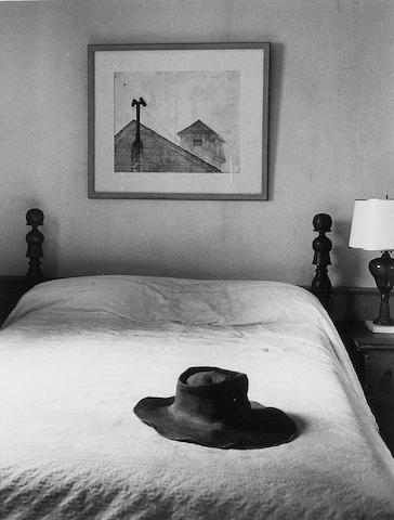 Alfred Eisenstaedt (American, 1898-1995); Andrew Wyeth's Bedroom, Cushing, Maine;