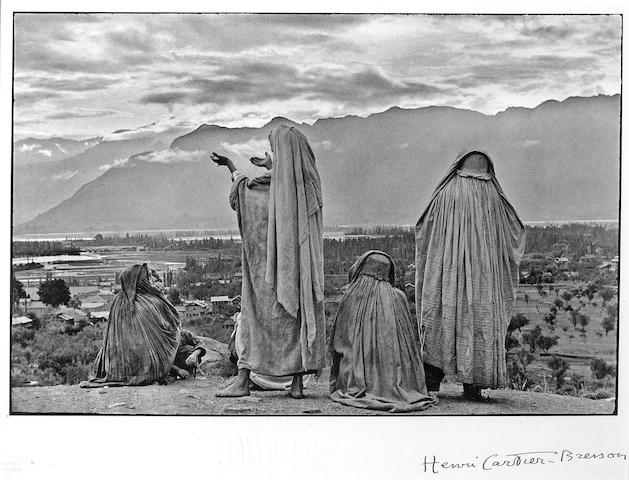 Henri Cartier-Bresson (French, 1908-2004); Srinagar, Kashmir;