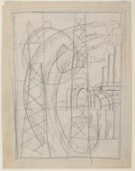 Fernand Léger  (French, 1881-1955) Studies for mural for the Con Edison building, 1938 (3) 11 3/8 x 8 1/4in (29 x 22.2cm)