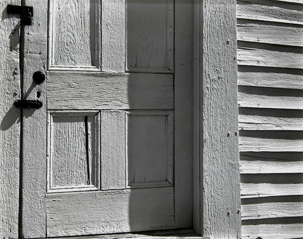 Edward Weston (American, 1886-1958); Church Door, Hornitos;