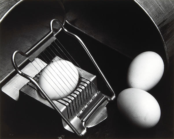 Edward Weston (American, 1886-1958); Eggs and Slicer;