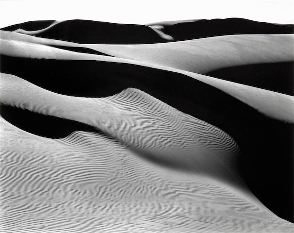 Edward Weston (American, 1886-1958); Dunes, Oceano;