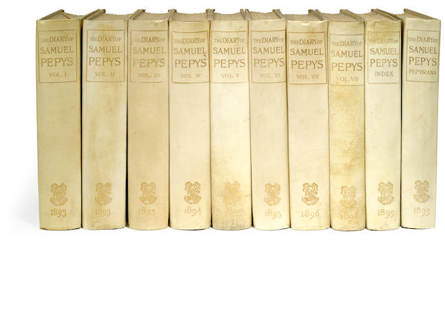 Diary of Samuel Pepys. London: George Bell, 1893-1899. 10 vols.