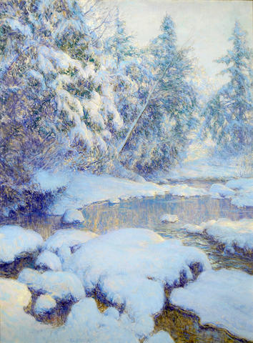 Walter Launt Palmer, A Stream in Winter