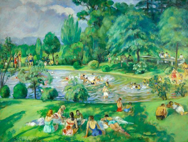 Martha Walter, The Swimming Pool