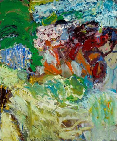 Eileen Downey (American, born 1937) Botanical Meditation, 1960 42 x 35in