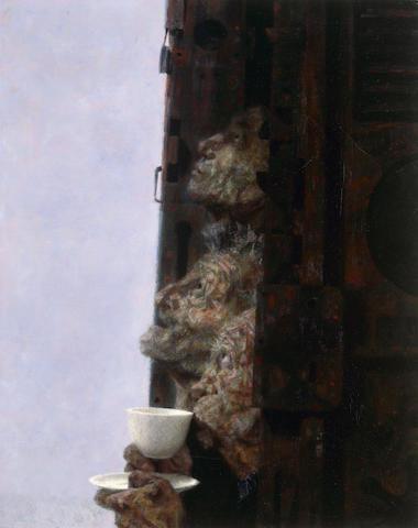 Joseph Hirsch (American, 1910-1981), Untitled (Portrait), oil on canvas