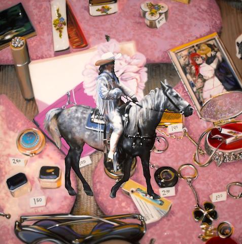 Ben Schonzeit (American, born 1942) Buffalo Bill