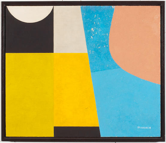 John McLaughlin (American, 1898-1976) Untitled, c. 1948 17 x 19 3/4in