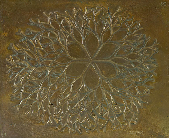 Ruth Asawa (American, born 1926) Untitled, 1979 5 1/4 x 6 1/2in