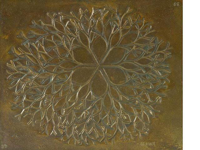 Ruth Asawa (American, born 1926) Untitled, 1979 5 1/4 x 6 1/2in