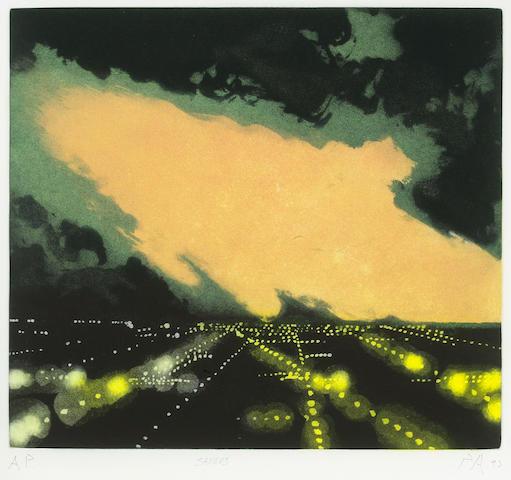 Peter Alexander (American, born 1939) Saugus, 1992 image 17 1/4 x 19 1/2in<br>sheet 22 1/2 x 24 1/2in