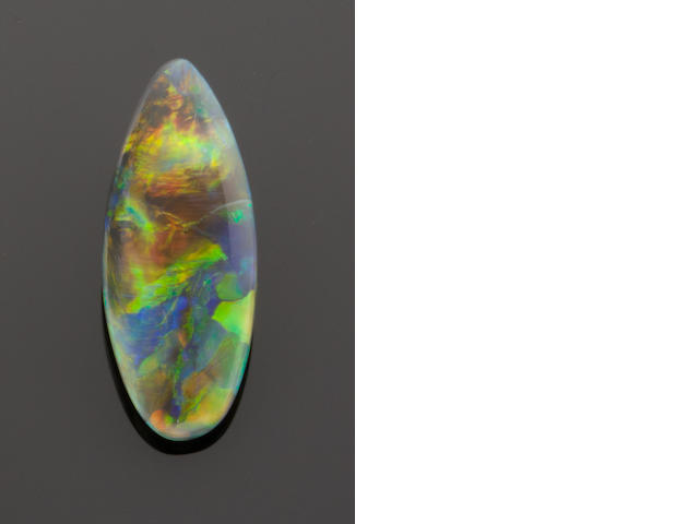 Black/Crystal Opal