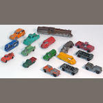 Scaled 1/87th toy cars