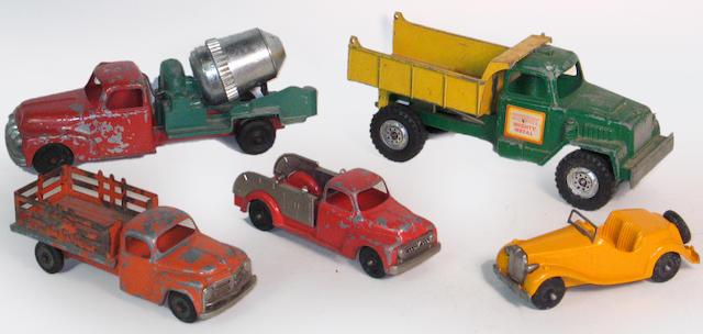 1950's metal toys