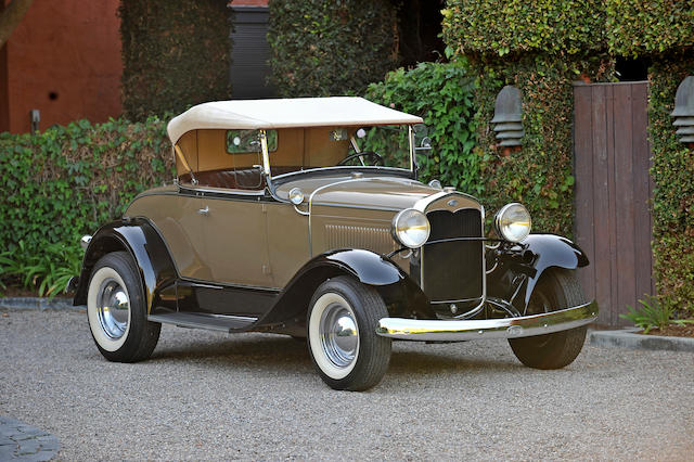 bonhams the ex andy hardy mickey rooney and judy garland 1931 ford model a roadster engine no. Black Bedroom Furniture Sets. Home Design Ideas
